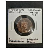 Ancient Rome Prov. Coin Elagagalus 218-222 Ad