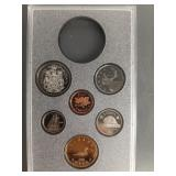1990 Canadian proof set minus silver dollar