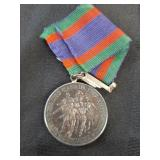 1939-1945 Silver Canadian Service Medal no marks
