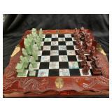 Beautiful Chinese chess set complete