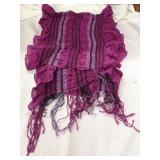 Decorative ladies scarf