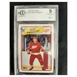 1988-89 Bob Probert Graded Hockey Card 9NM