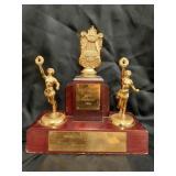 1954 Waterloo Music Fest. 1st.Place Trophy