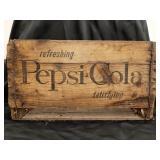 1950s Pepsi-Cola Wood Crate
