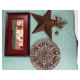 Wall hanging home decor lot 3 pieces
