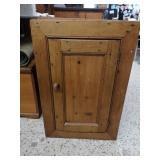 Wonderful vintage rustic pine cupboard