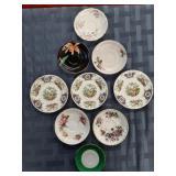 9 Teacup Saucers - Saucers Only