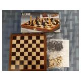 Chess set in box never played
