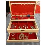 Jewelry Box Filled with  Jewelry