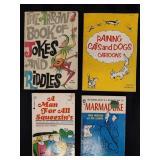 4 Vintage Cartoon Joke Book Lot