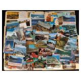 72  Vintage World Postcards New and Used