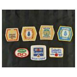 7 Retro Beer Patches