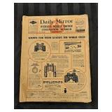 Daily Mirror Overseas Edition May 20th 1937