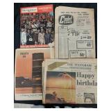 July 1st. 1967 Newspapers + magazine