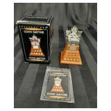 McDonalds Conn Smythe Trophy in box