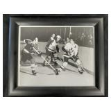 Toronto Maple Leafs game photo in frame