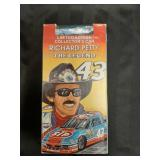 Richard Petty VHS Vol.1&2 and car collector