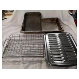 Oven pans and racks