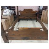 4 Post Wood Queen Bed