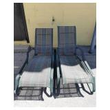 2 Lounge Patio Chairs made in canada