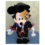 Plush Mickey Mouse Halloween greeter