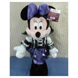 Plush Minnie Mouse Halloween greeter
