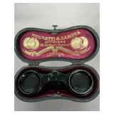 NEGRETTI & ZAMBRA Opera glasses & case