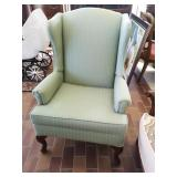Lovey high back parlour chair.