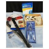 Water filter/ basting brush/probes/