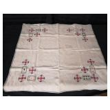 Handmade Bridge Tablecloth