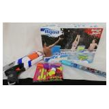 Nerf gun bubbles and outdoor toys
