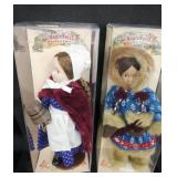Mini porcelain dolls