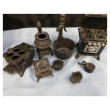 Mini cast stoves