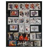 1991-92 UD Hockey Heroes Hull, Gretzky & Howe