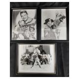 50s & 60s Kids TV Show Entertainers Framed picture