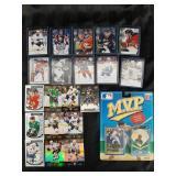 NHL Upper Deck Hockey Cards & MLB M.V.P. Card