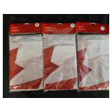 """Canada Flags (3) new in package 27"""" x 54"""""""