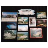 Niagara Falls Postcards and Ashtray