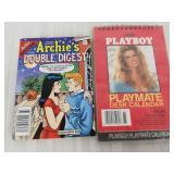 Playboy desk calendar Archie
