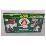 New in Box Score 1991 MLB Collector Set 900 Cards