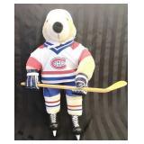 Montreal Canadiens Stuffed Bear