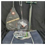 Active and outdoor lot racquets pump cooler bag