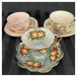 Limoges America, Windsor and Shafford tea sets