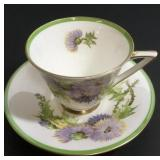 Royal Doulton Glamis Thistle Cup & Saucer