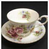 Paragon Cup & Saucer with Roses