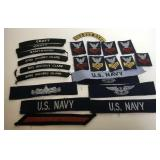Lot of  US Navy Patches