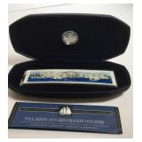 First Day Issue Tall Ships Stamp Dime Set