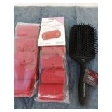 Brush and curlers
