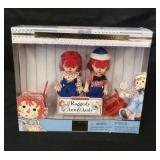 Brand new in the box Raggedy Ann and Andy