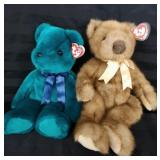 Two larger Ty teddy bears